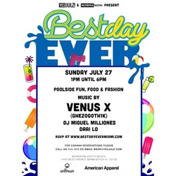 Best Day Ever Pool Party & BBQ July Edition