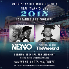 New Year's Eve Miami Fontainebleau