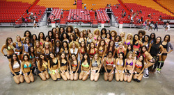 Miami Heat Dancer Auditions 2014-2015.